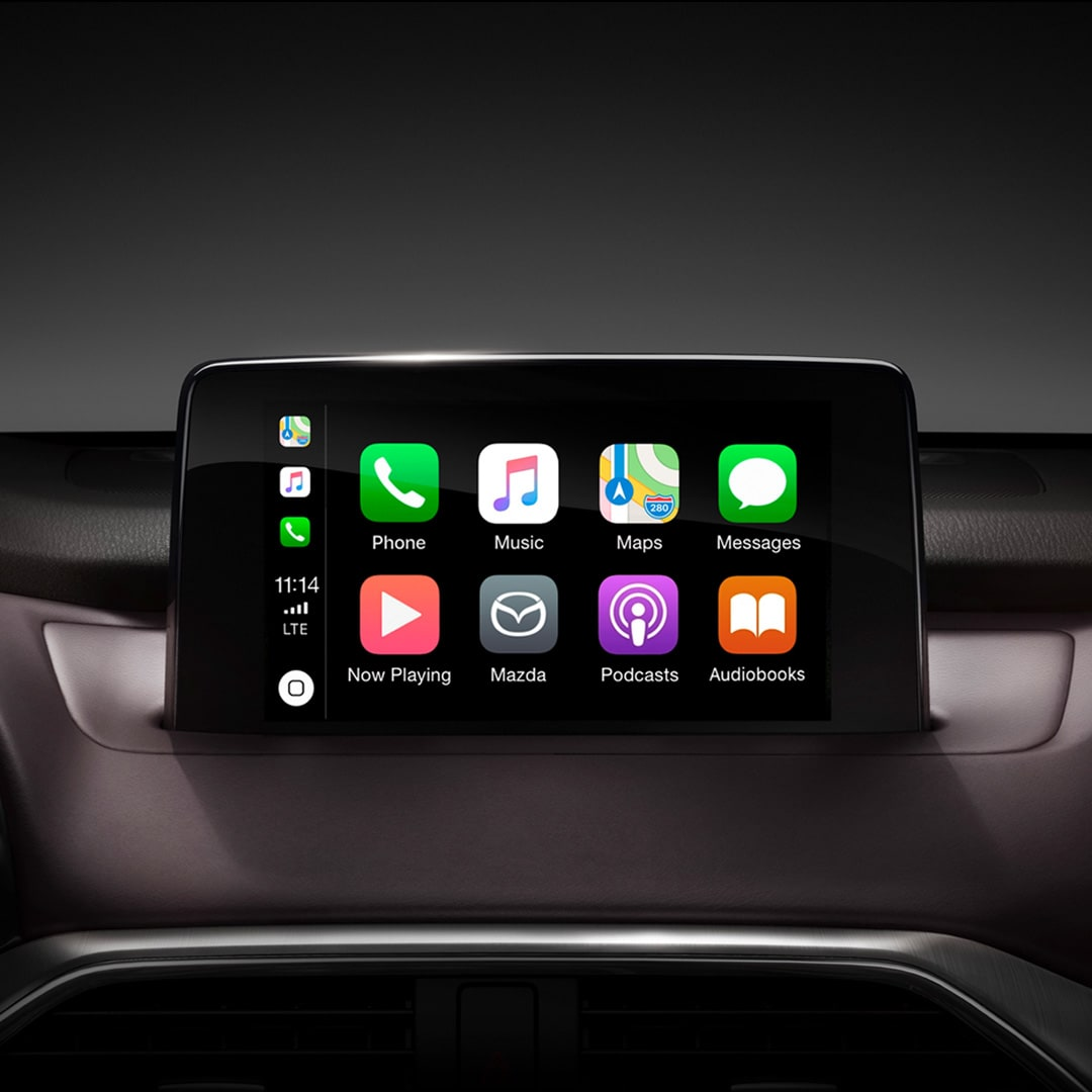 2019 Mazda CX-9 Apple Carplay and Android Auto integration